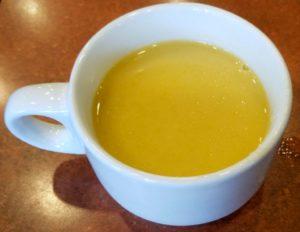 ステーキガストのコーンスープ