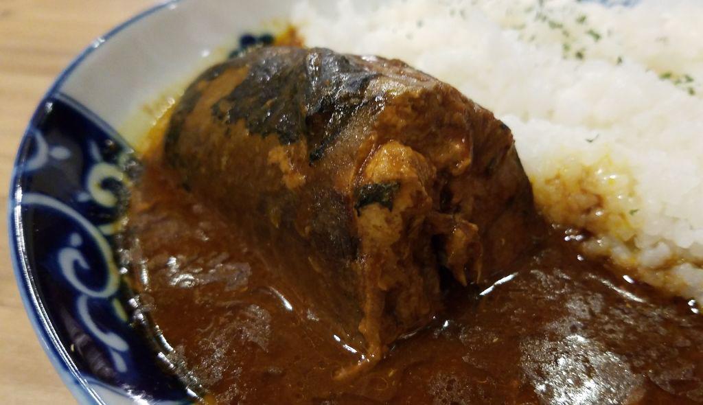 磯丸水産の鯖カレー