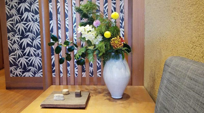 木曽路の生け花
