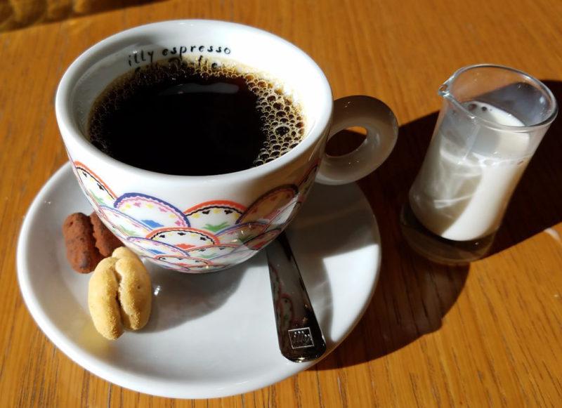 ブラッスリーうかいのコーヒー