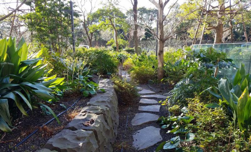 ブラッスリーうかいの庭園