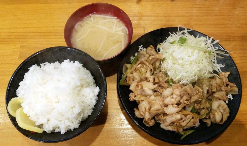 生姜焼き定食